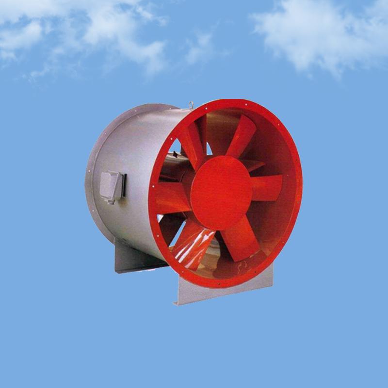 HTF消防排烟轴流风机 低噪音高温混流排烟风机 耐高温轴流排烟风机 大功率混流排烟风机!